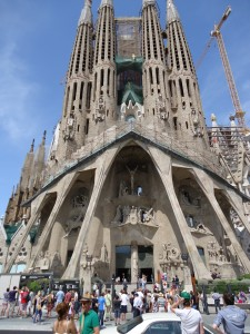 Sagrada de Familia, Barcelona